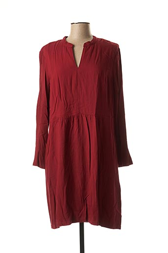 Robe mi-longue rouge NICE THINGS pour femme