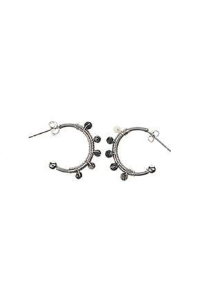 Boucles d'oreilles gris CERTUS pour femme