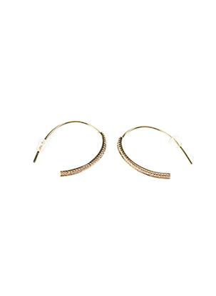 Boucles d'oreilles jaune CERTUS pour femme
