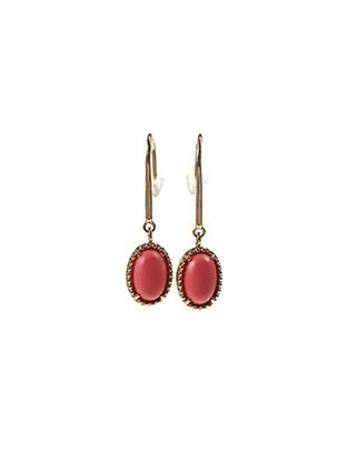 Boucles d'oreilles rose LA COQUE DE NACRE pour femme