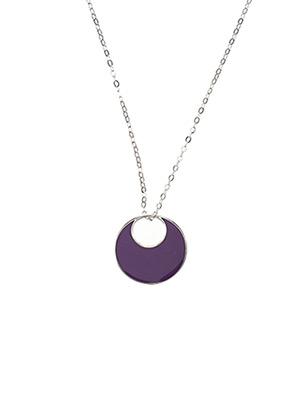 Collier violet IKPS pour femme