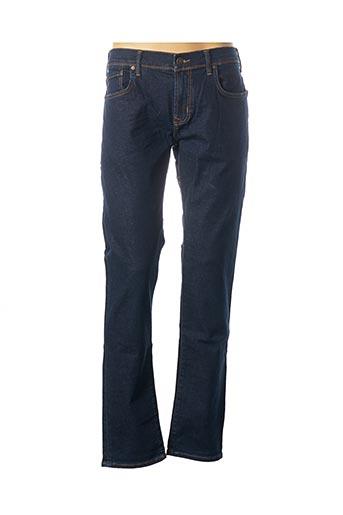 Jeans coupe droite bleu LTB pour homme