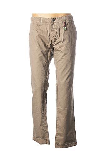 Pantalon casual beige DSTREZZED pour homme