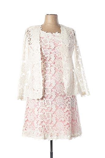 Veste/robe blanc GEORGEDÉ pour femme