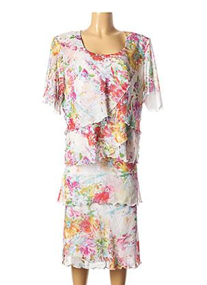 Top/jupe rose GEORGEDÉ pour femme