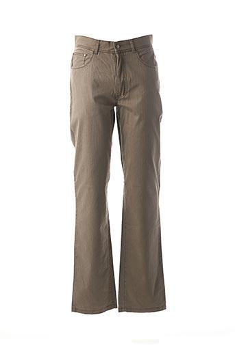 Pantalon casual gris MISE AU GREEN pour homme