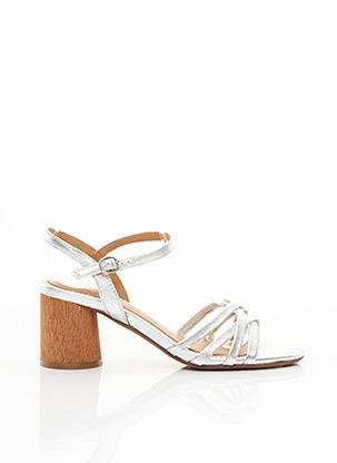 Sandales/Nu pieds gris ADIGE pour femme