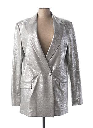 Veste chic / Blazer gris IMPERIAL pour femme