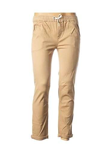 Pantalon chic beige BECKARO pour femme