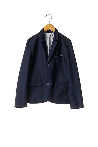 Veste chic / Blazer bleu JEAN BOURGET pour garçon