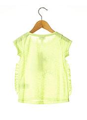 T-shirt manches courtes jaune CHIPIE pour fille seconde vue