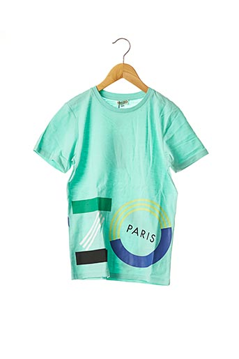 T-shirt manches courtes vert KENZO pour garçon