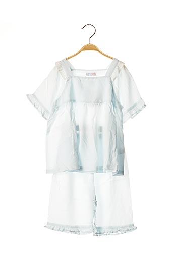 Pyjashort bleu BALABALA X KIDILIZ pour fille