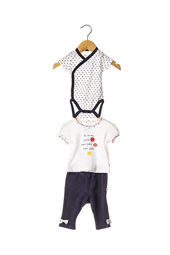 Top/pantalon blanc ABSORBA pour fille