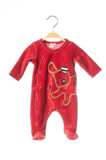 Pyjama rouge CATIMINI pour enfant