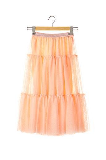 Jupe mi-longue orange IKKS pour fille