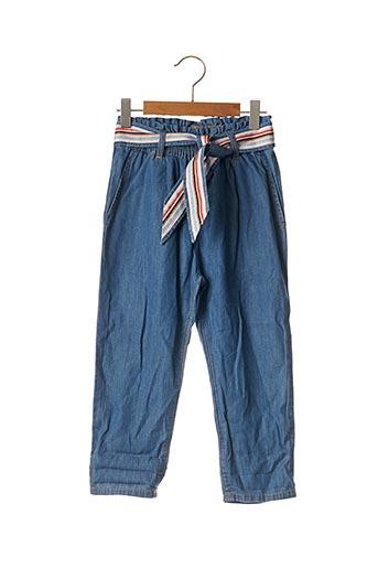 Pantalon chic bleu CATIMINI pour fille