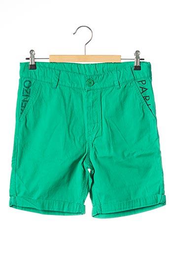 Short vert KENZO pour garçon
