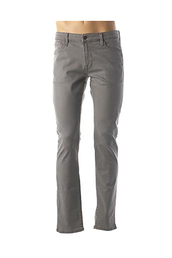 Jeans coupe slim gris JACK & JONES pour homme
