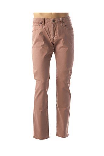 Jeans coupe slim rose JACK & JONES pour homme