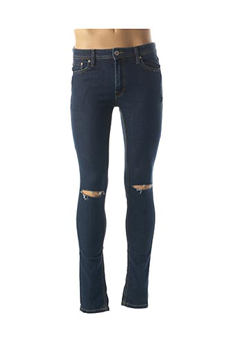 Jeans skinny bleu JACK & JONES pour homme