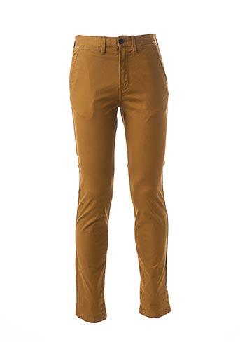 Pantalon chic jaune JACK & JONES pour homme