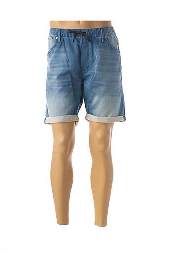 Short bleu JACK & JONES pour homme