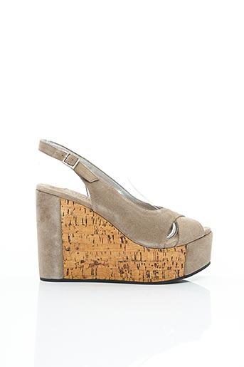 Sandales/Nu pieds beige FREE LANCE pour femme