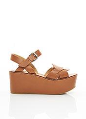 Sandales/Nu pieds marron JANET & JANET pour femme seconde vue