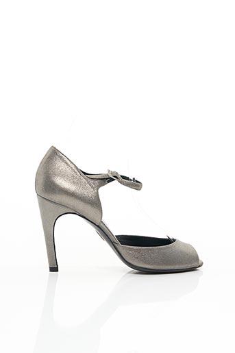 Sandales/Nu pieds gris FRANCOIS NAJAR pour femme