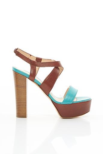 Sandales/Nu pieds marron ALDO CASTAGNA pour femme