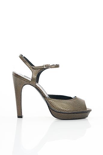Sandales/Nu pieds vert FRANCOIS NAJAR pour femme