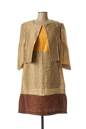 Veste/robe beige ORTO BOTANICO pour femme