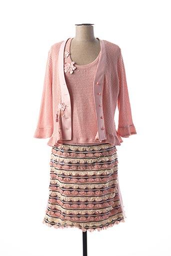 Veste/jupe rose POUPEE CHIC pour femme