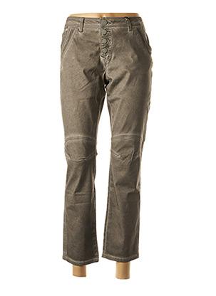 Pantalon 7/8 gris HEINE pour femme