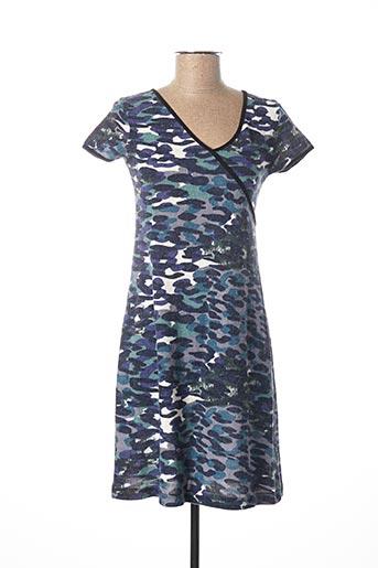 Robe courte bleu BLISS ANTWERP pour femme