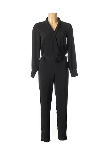 Combi-pantalon noir GRACE & MILA pour femme