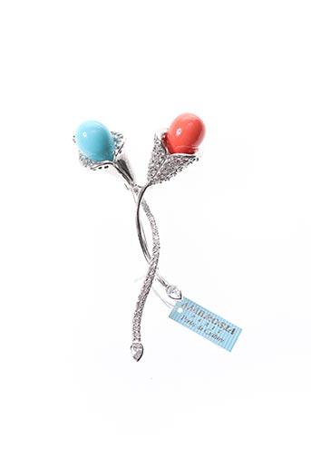 Broche bleu AMBROSIA PARIS pour femme