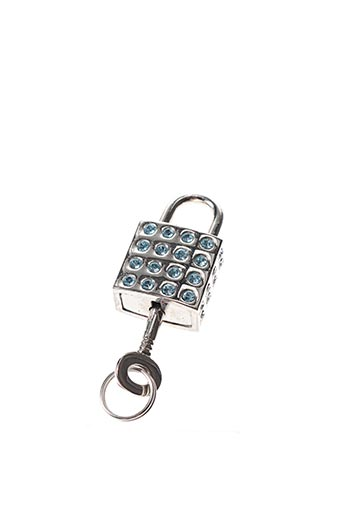 Porte-clé bleu AMBROSIA PARIS pour femme