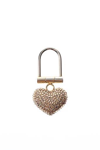 Porte-clé jaune AMBROSIA PARIS pour femme