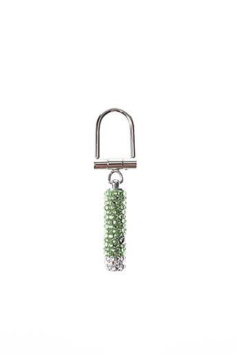 Porte-clé vert AMBROSIA PARIS pour femme