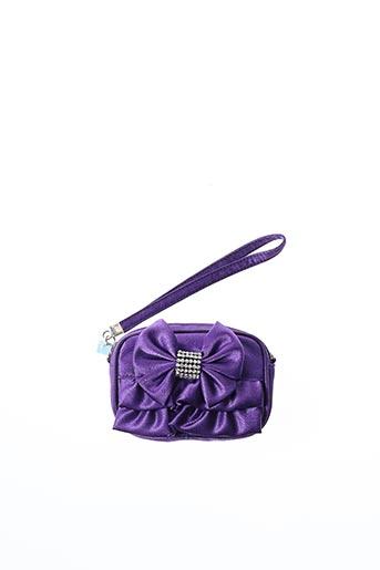Porte-monnaie violet AMBROSIA PARIS pour femme