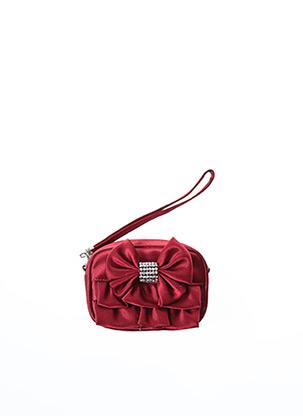 Porte-monnaie rouge AMBROSIA PARIS pour femme