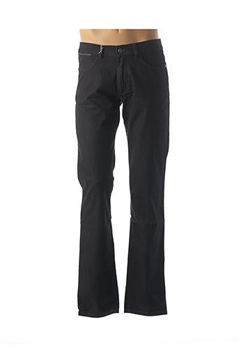 Jeans coupe slim bleu BRUNO SAINT HILAIRE pour homme