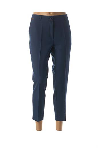 Pantalon 7/8 bleu CRISTINA BARROS pour femme