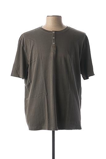 T-shirt manches courtes gris CAMEL ACTIVE pour homme