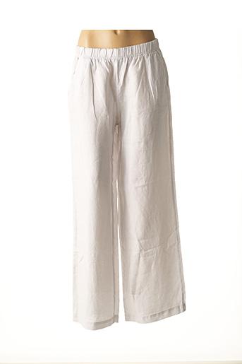 Pantalon casual gris ROSSO 35 pour femme