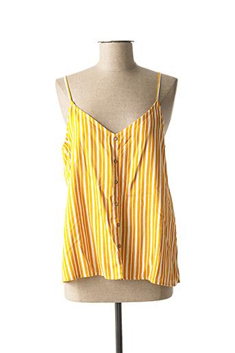 Top jaune ONLY pour femme