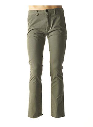 Pantalon casual vert HUGO BOSS pour homme