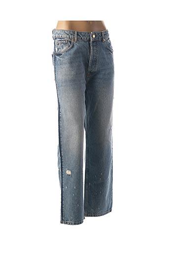Jeans coupe droite bleu ESSENTIEL pour femme